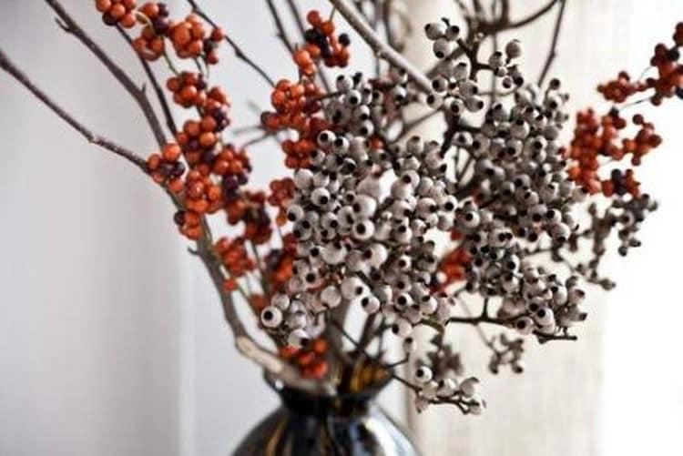 Осенние дары природы и поделки из них вместе с детьми и для дома (35 фото)