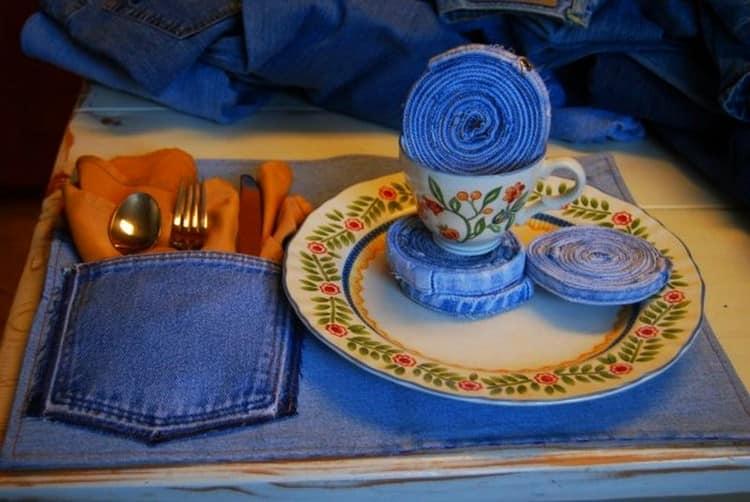 Поделки из старых джинсов своими руками: простые идеи и готовые пошаговые мастерклассы (38 фото)