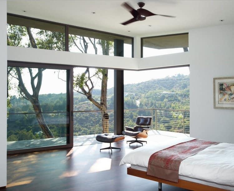 Панорамные окна в интерьере: простор в доме и варианты обрамления и использования в дизайне квартиры (47 фото)