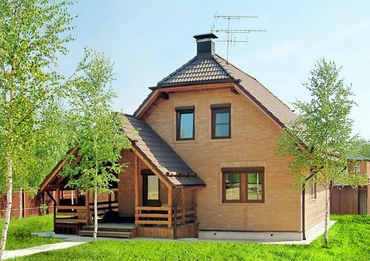 каркасные дома БАКО с верандой