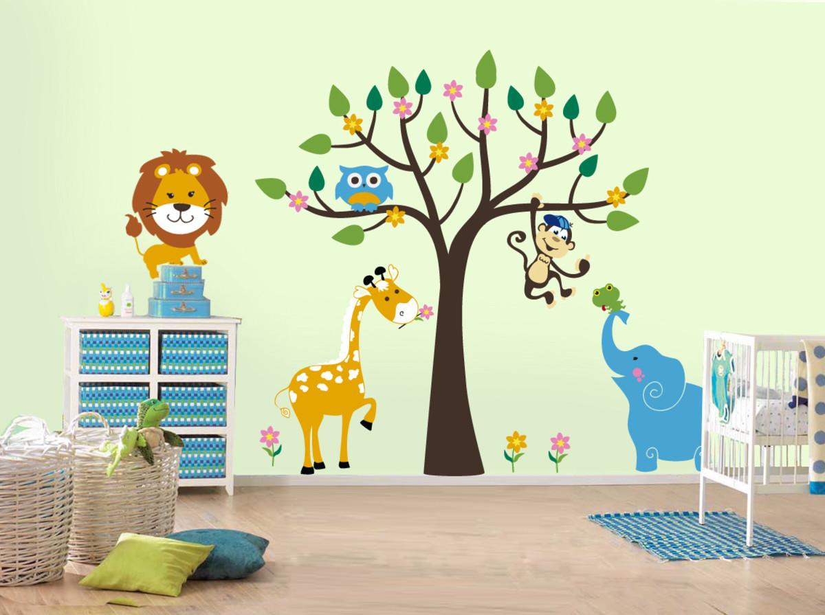 Украсит стены детского сада своими руками