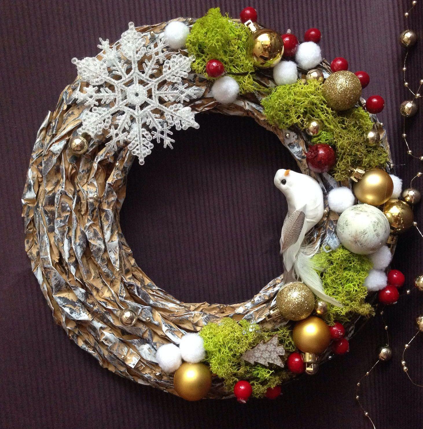 восхитительный рождественский венок