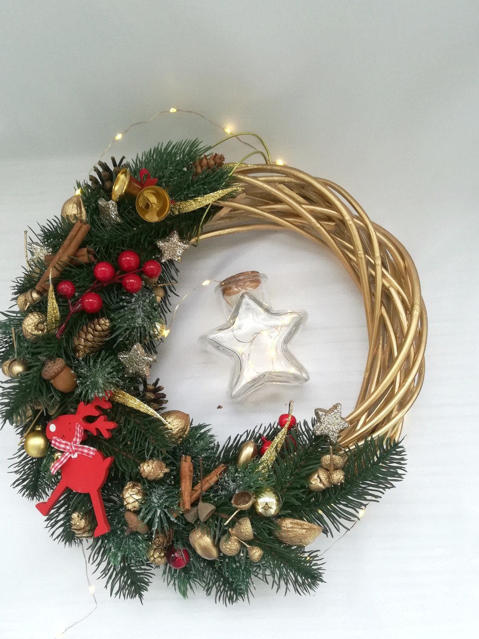 оригинальный рождественский венок