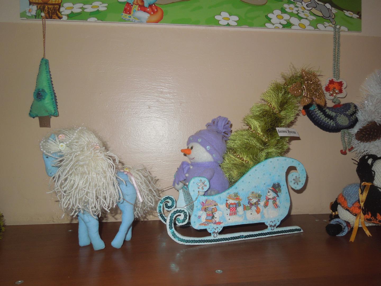новогодние поделки своими руками в детский садик