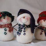 Снеговики из флиса