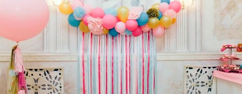 декоративное панно из шаров на стену
