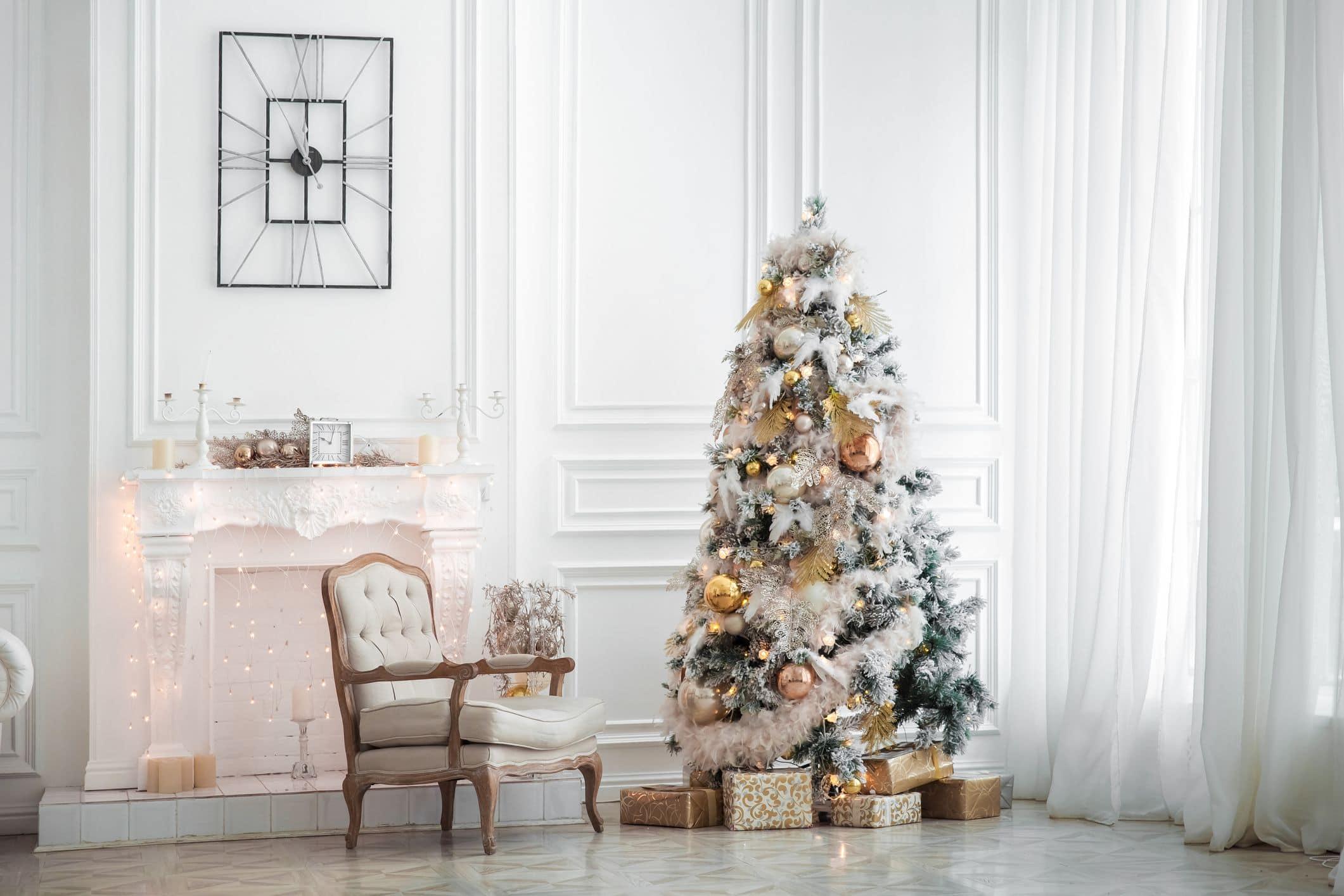 новогодняя елка украшения