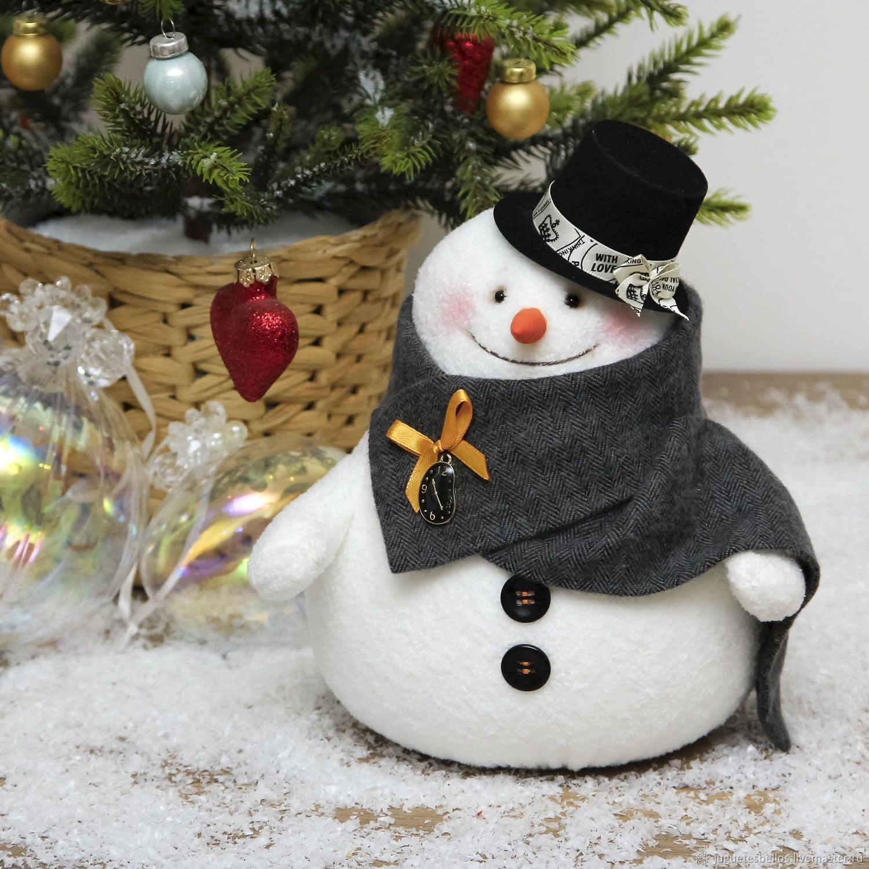 снеговик своими руками подарок на новый год