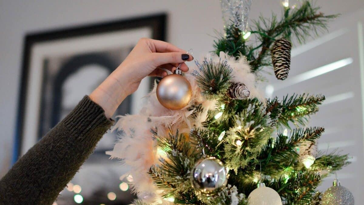 украшение елки