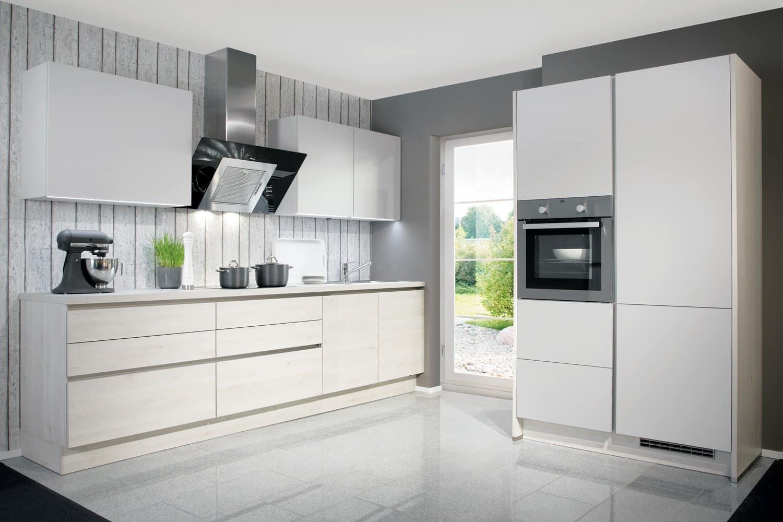 кухни белый глянец
