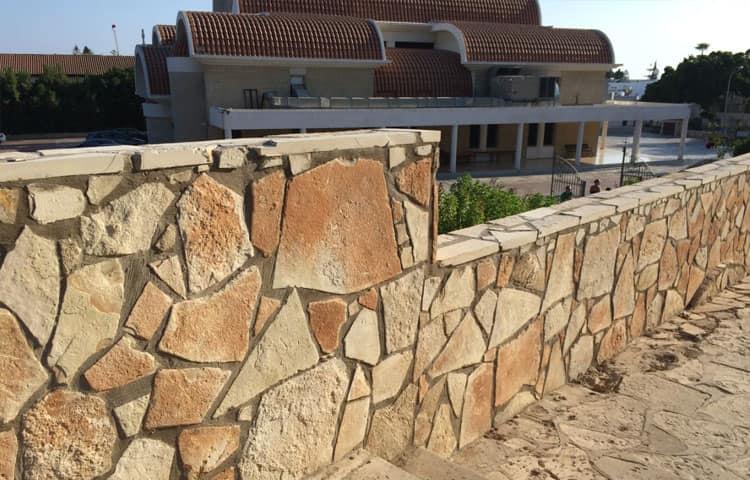 Забор из песчаника