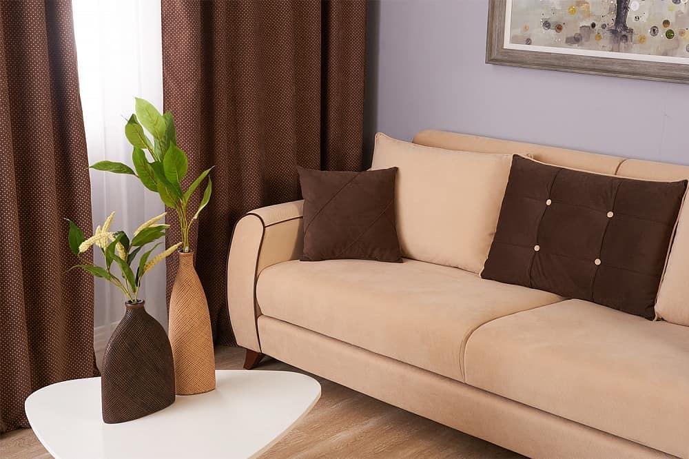 диван-книжка в интерьере