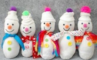 Поделка снеговик: из чего сделать своими руками, если нет снега - 5 креативных способов и 60 фото