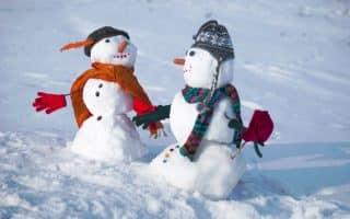 Что можно слепить из снега вместе с детьми