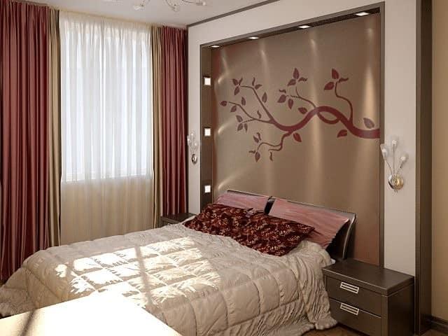 Гипсокартон своими руками в спальне