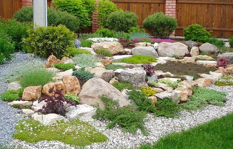 Природный камень в ландшафтном дизайне