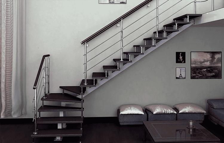 Модульная лестница в интерьере